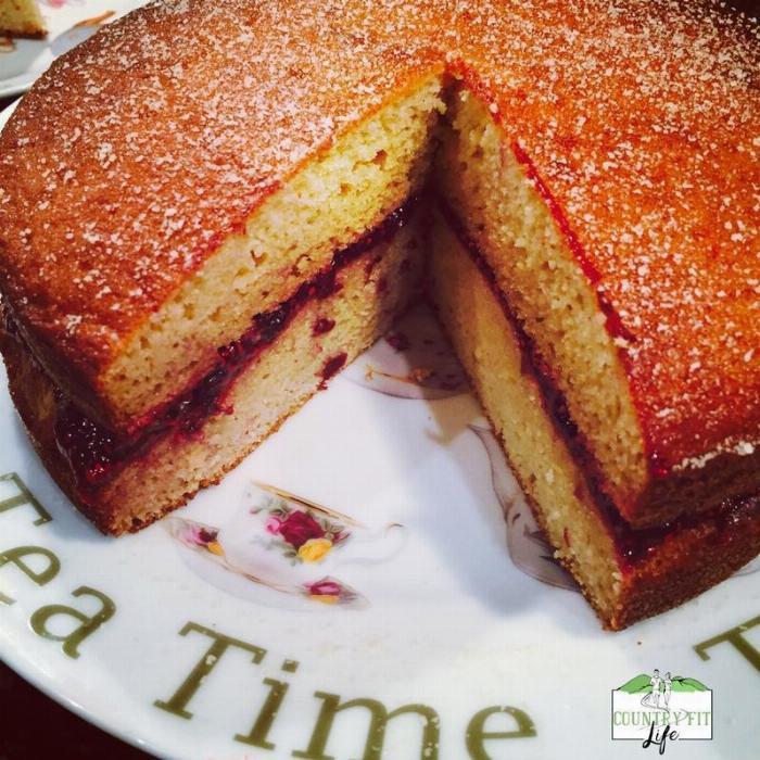 Jam Sponge Cake (gluten Free/dairy Free/paleo)