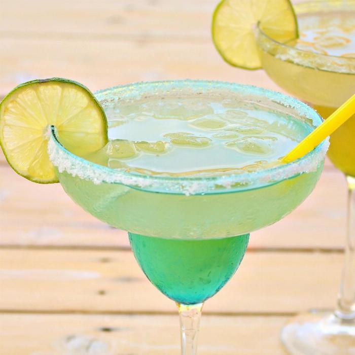 Homemade Sugar Free Margaritas