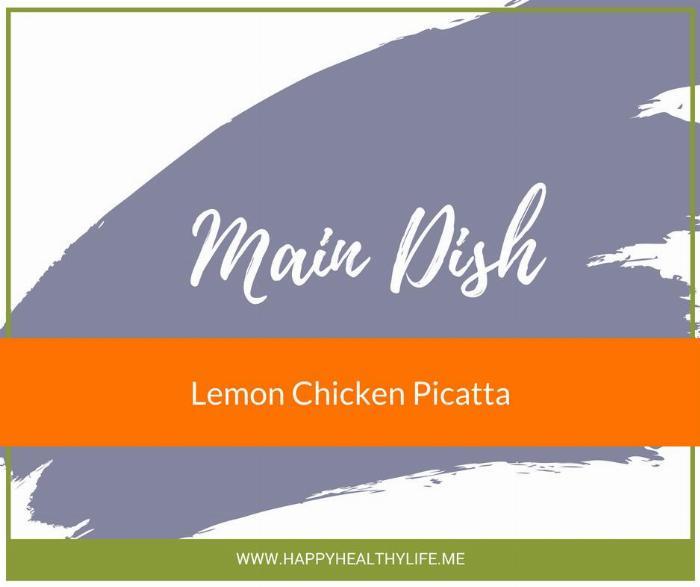 Lemon Chicken Piccata