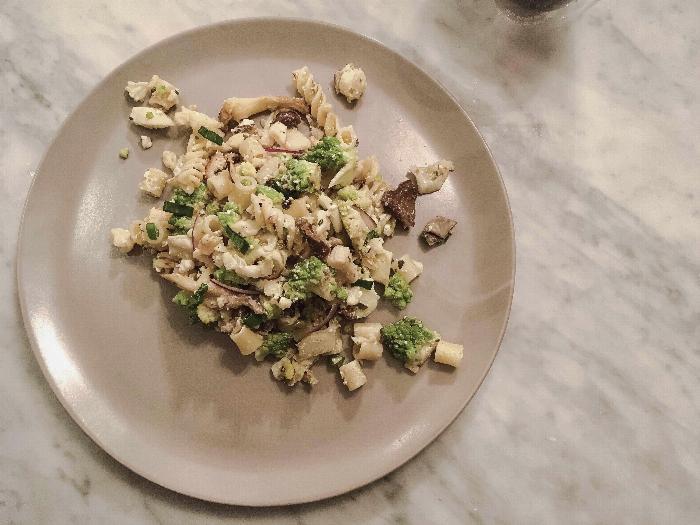 Cauliflower & Romanesco Pasta