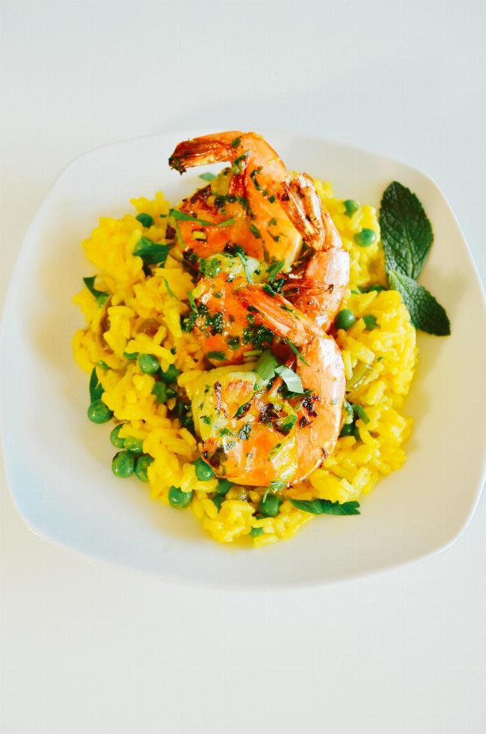Camarones En Mojo Verde (shrimp In Green Sauce)