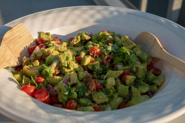 Avocado And Tomato Summer Salad