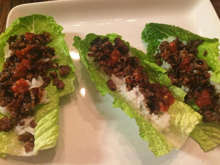 Korean Lettuce Wraps