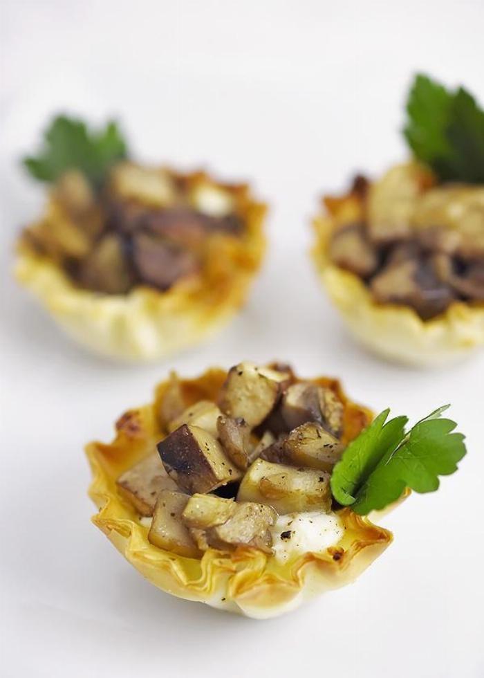 Mushroom & Goat Cheese Appetizer