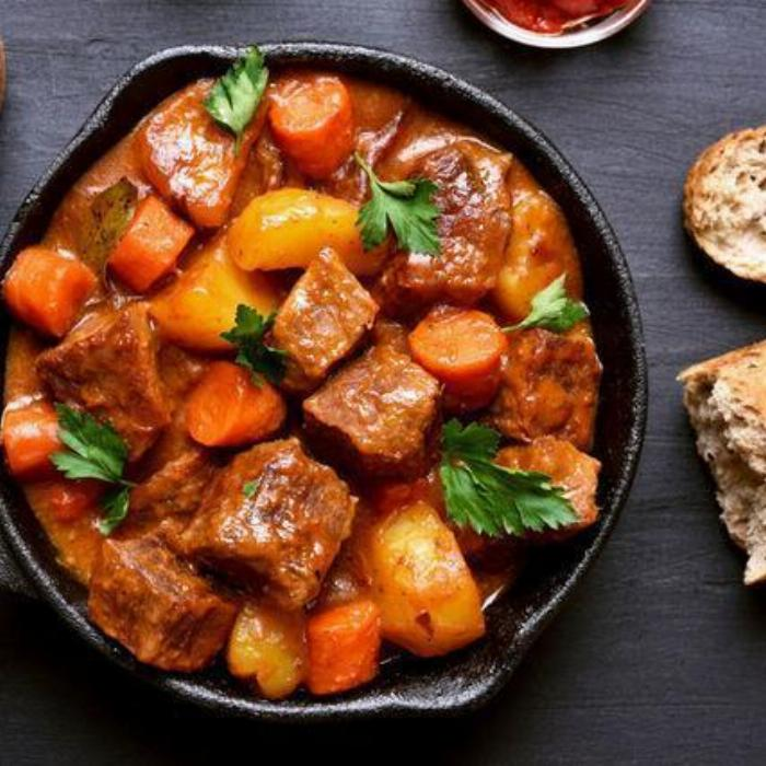 The Perfect Beef Stew (adapted For The Instant Pot)