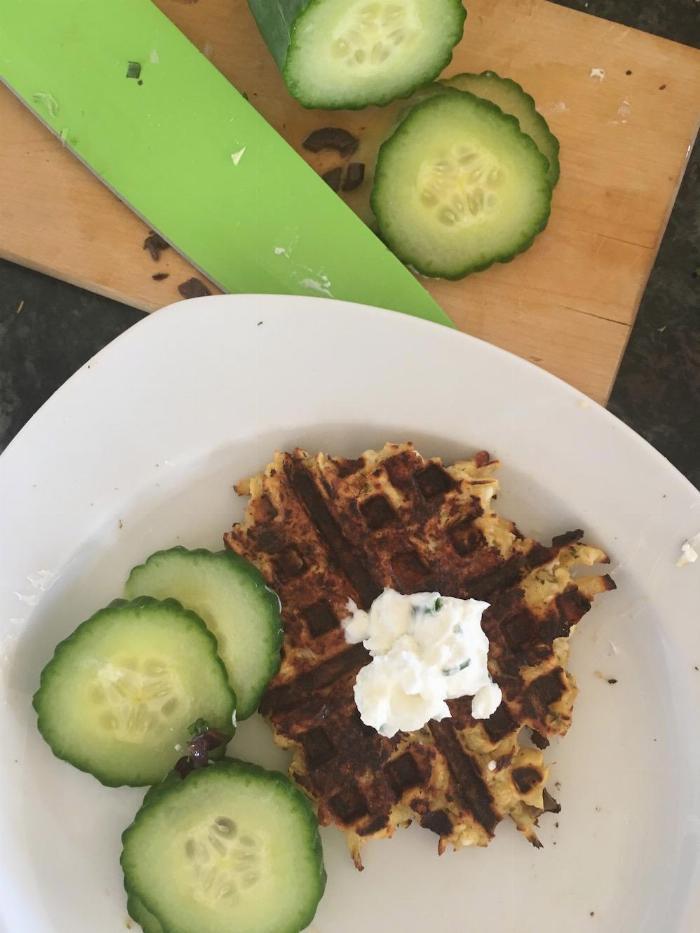 Parsnip Waffles