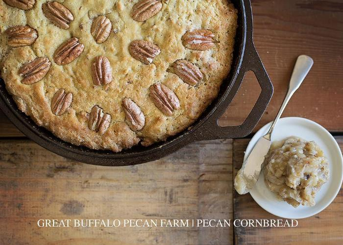Homemade Pecan Cornbread