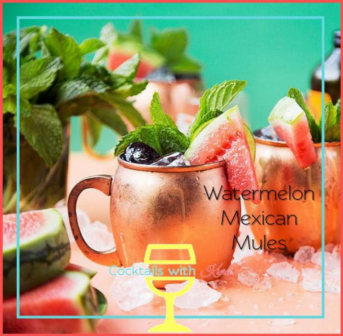 Watermelon Mexican Mules