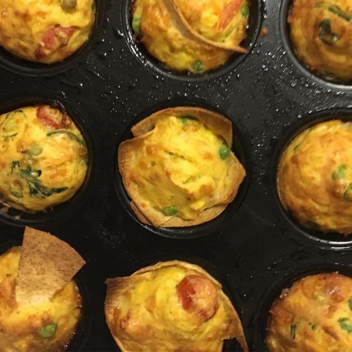 Veggie Packed Savoury Muffins