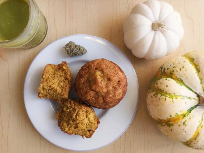 Harvest Muffins With Pumpkin And Apples