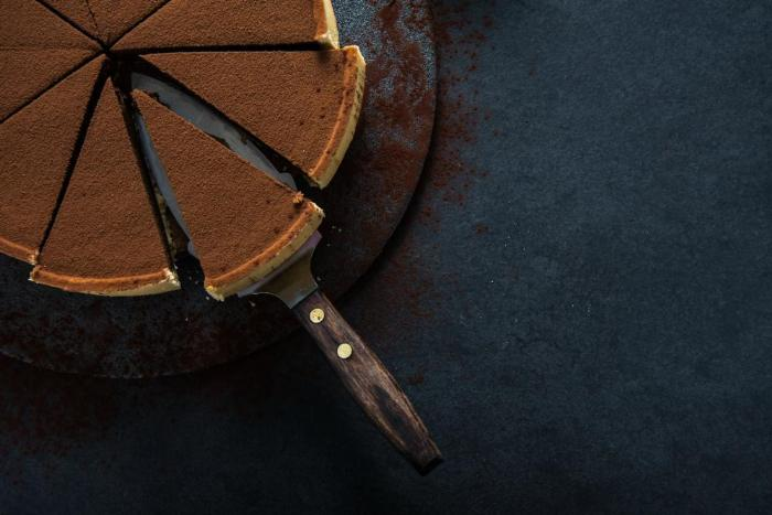 Red Wine Chocolate Tart