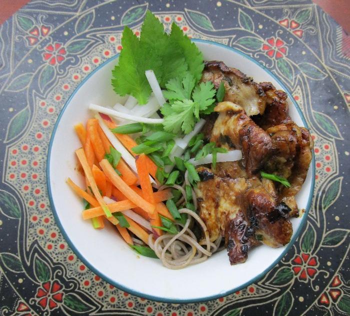 Vietnamese Pork And Noodle Bowl