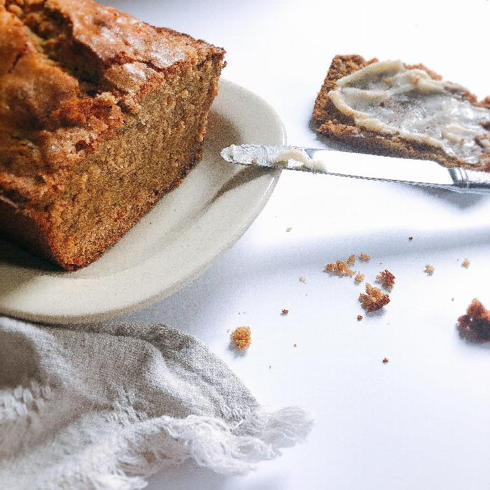Brown Butter Cardamom Banana Bread