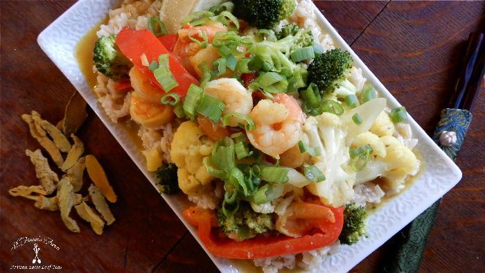 Golden Turmeric Chicken/shrimp Curry