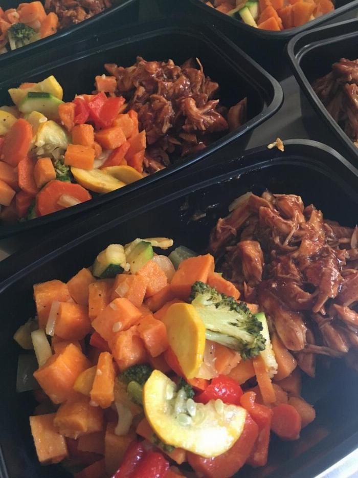 Bbq Chicken & Roasted Veggies
