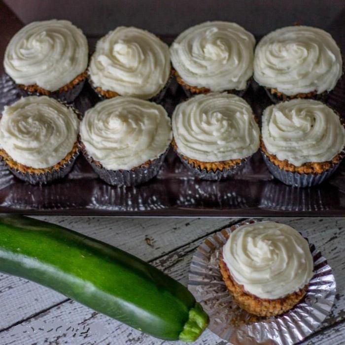 Keto Zucchini Spice Muffins