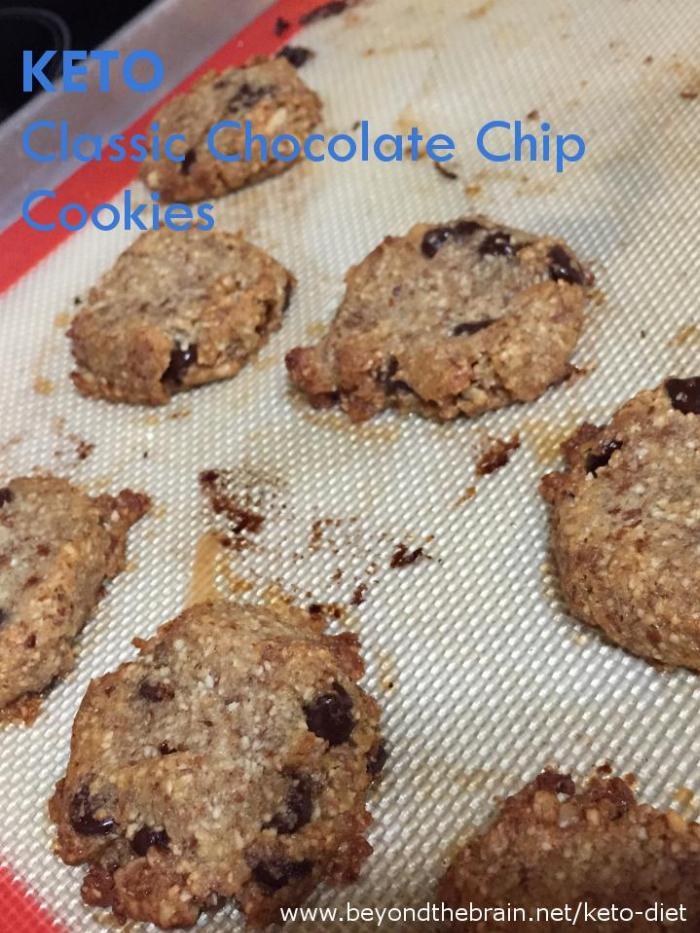 Recipe - Keto: Classic Chocolate Chip Cookies
