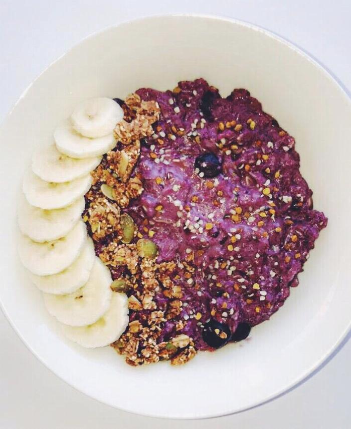Berry Protein Oats