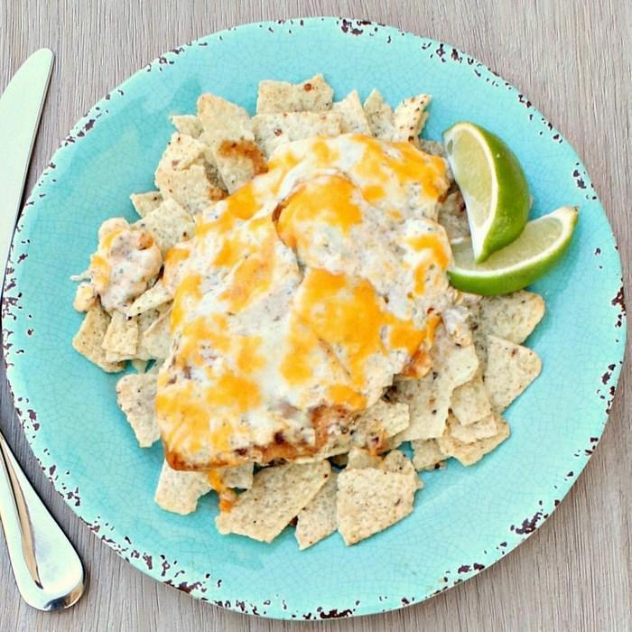 Tequila Lime Chicken With Mexi-ranch