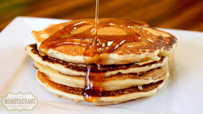 Dairy Free Buttermilk Pancakes