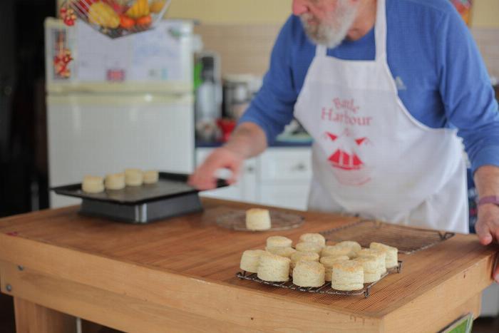 Barrie's Buttermilk Biscuits
