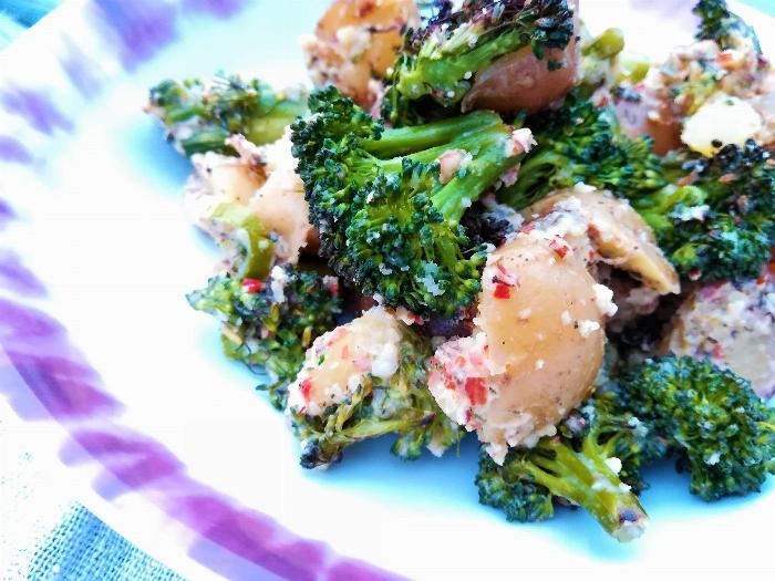 Bronzed Broccoli & Potatoes