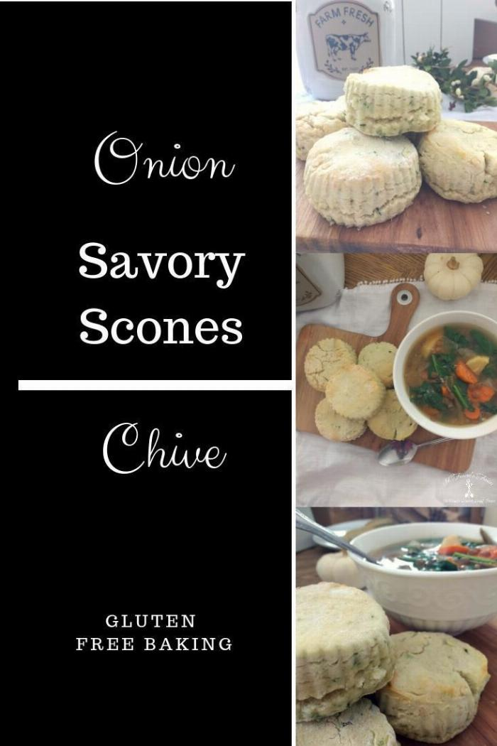 Savory Onion Chive Scones