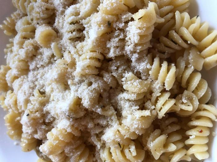 Quick Garlic And Butter Pasta