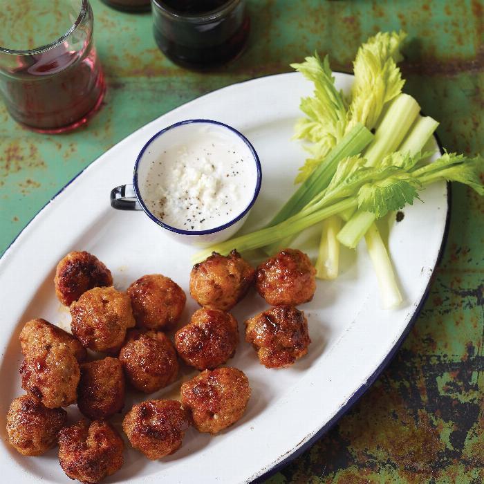 The Meatball Shop Buffalo Chicken Balls