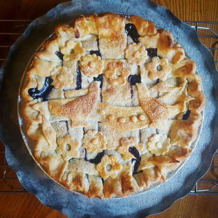 Blubarb Pie