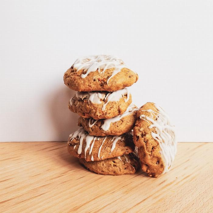 Soft And Chewy Carrot Cake Cookies