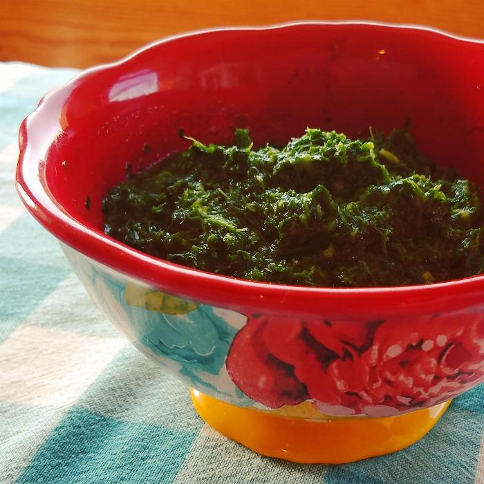 Chimichurri Sauce Made With Essential Oils