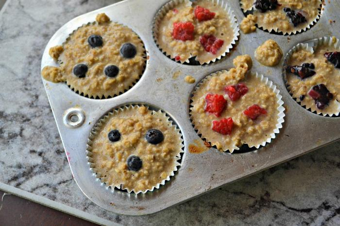 To-go Baked Oatmeal Muffins