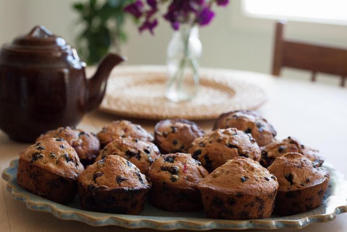 Margaret's Blueberry Muffins