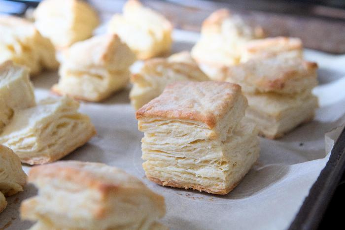 Austen's Rolled Biscuits