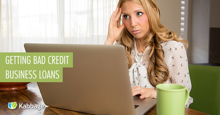 how to get a business startup loan with bad credit