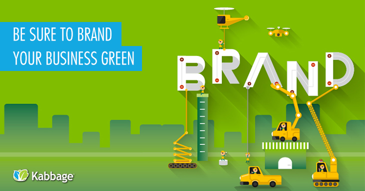 brand your business green