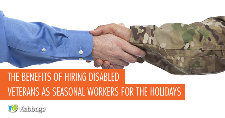 The Benefits of Hiring Disabled Veterans as Seasonal Workers for the Holidays