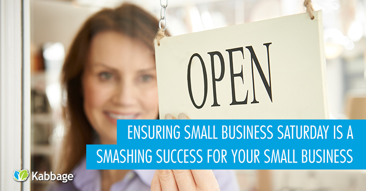 10 Ways to Ensure Small Business Saturday is a Smashing Success