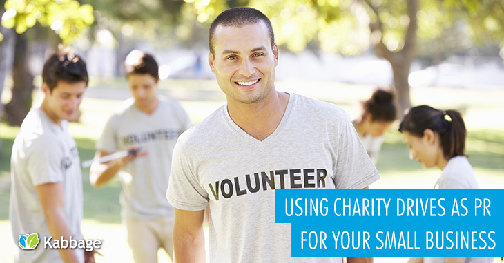 Using Charity Drives as PR for Your Small Business