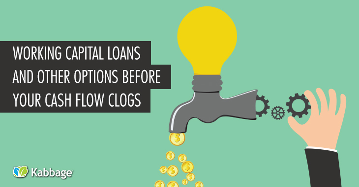 Working Capital Loans and Other Options BEFORE Your Cash Flow Clogs