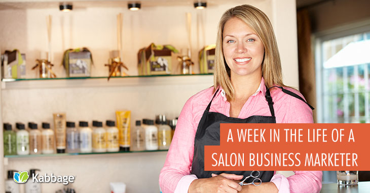 A Week in the Life of a Salon Business Marketer