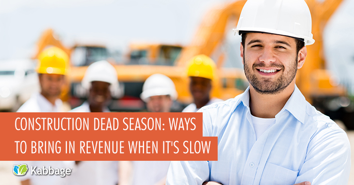 Construction Dead Zone? 8 Ways to Generate Off-Season Revenue During Slow Months