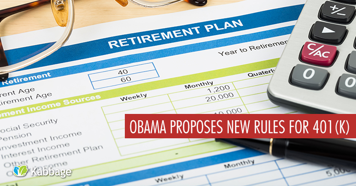 Obama Proposes New Rules for 401(k)