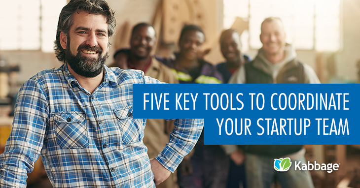 5 Key Tools to Coordinate Your Startup Team