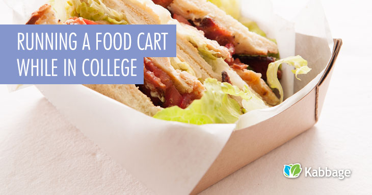 Running a Food Cart in college