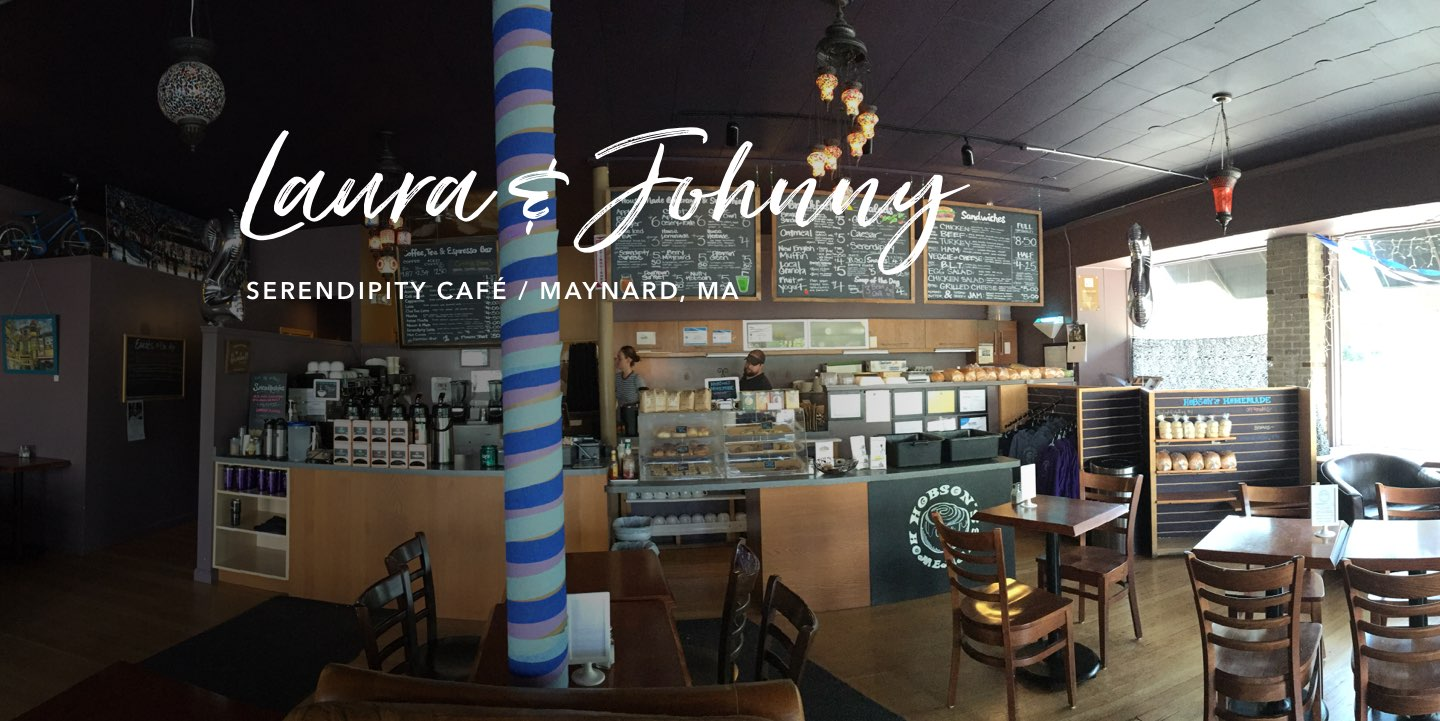 Laura & Johnny Hobson, Serendipity Café - Watch the story