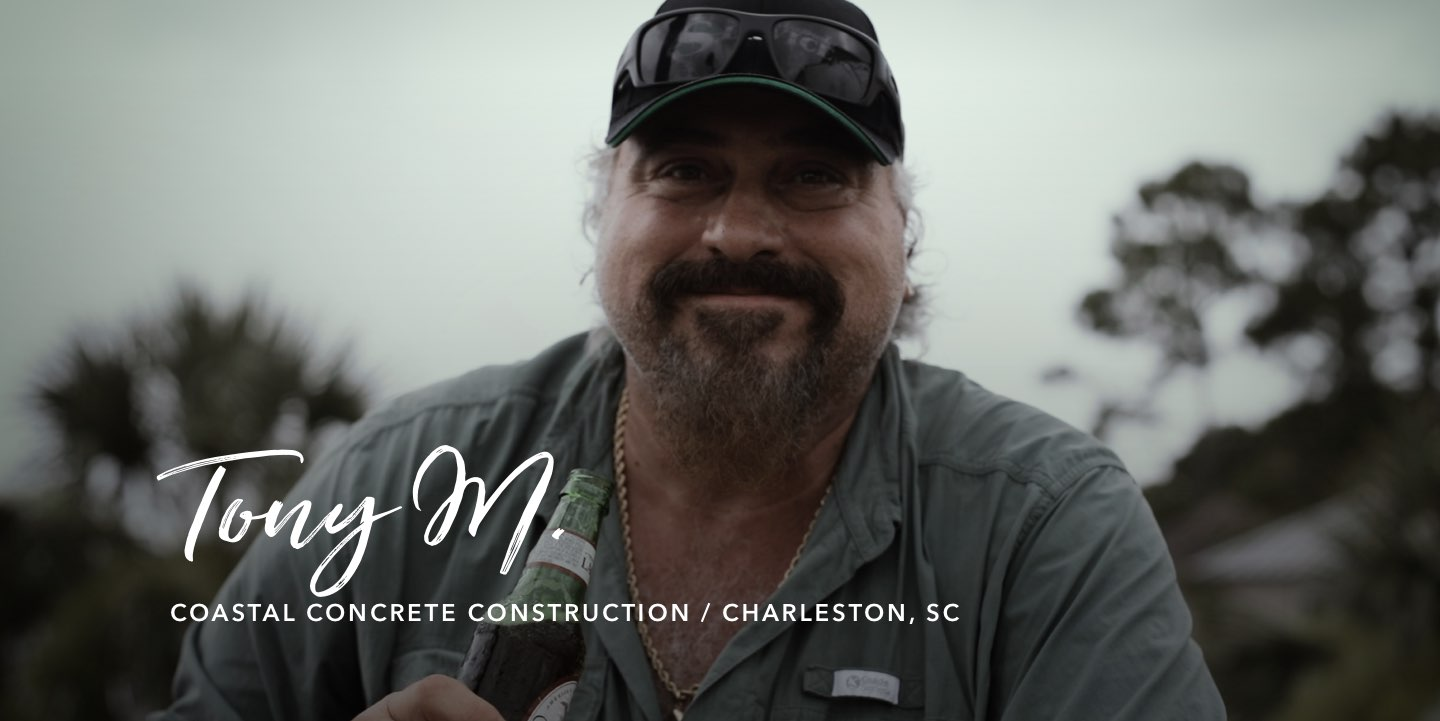 Tony M., Coastal Concrete Construction - Watch the story