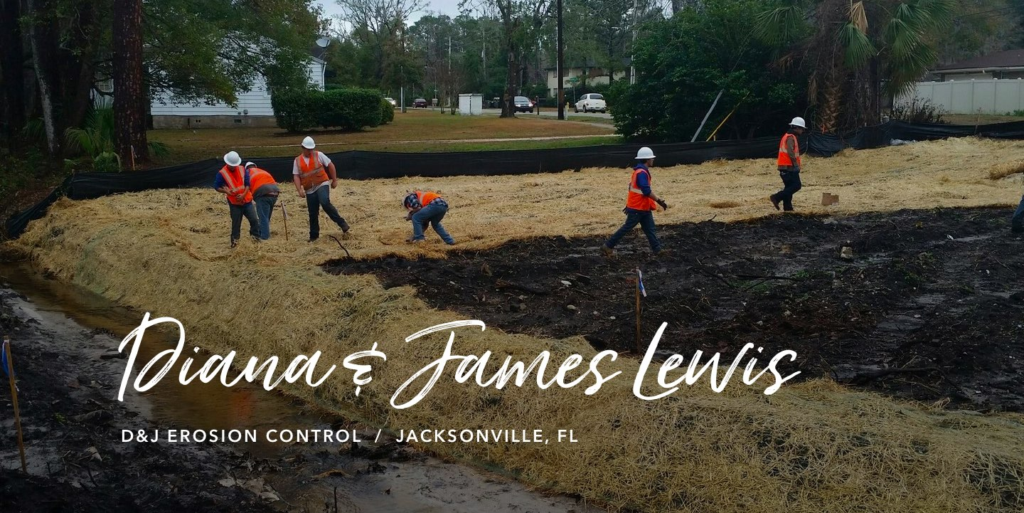 Diana and James Lewis, D&J Erosion Control - Watch the story