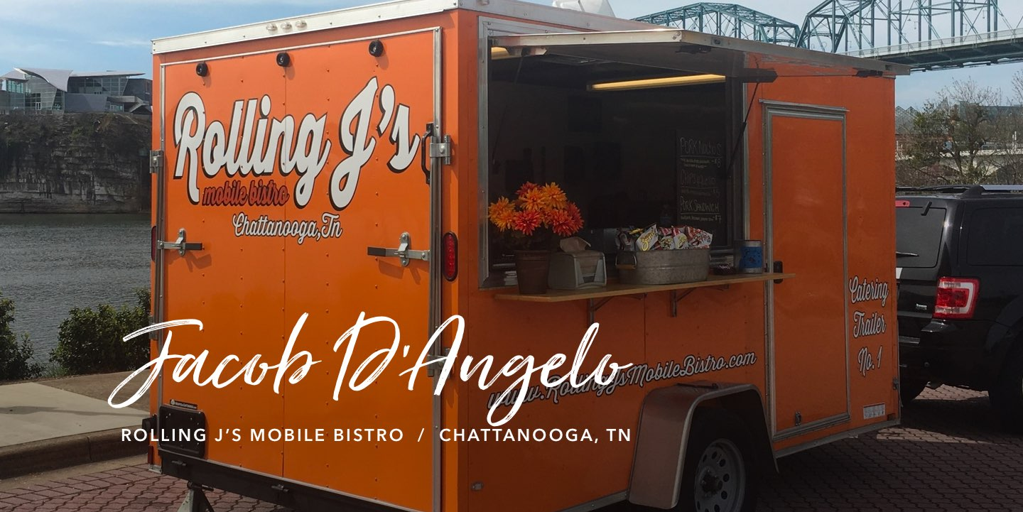 Jacob D'Angelo, Rolling J's Mobile Bistro - Watch the story